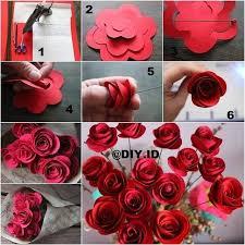 cara membuat bunga dengan kertas hias cara membuat hiasan dinding dari kertas kado google search