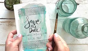make your own save the dates how to letter your own save the dates creative market