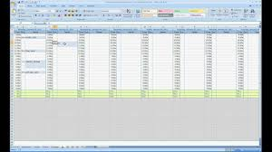 Free Excel Spreadsheets Free Excel Contact Appointment Scheduler Youtube