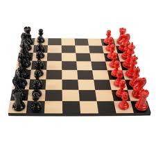 ancient chess set bold chess classic red v shadow black hand carved chess sets