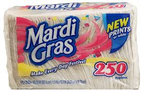 mardi gras napkins groceries express product infomation for mardi gras 1 ply