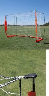 100 backyard soccer nets foldfast goals green steel
