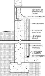 Exterior Basement Wall Insulation by Basement Insulation Retrofit Spray Foam And Insulated Framed Wall