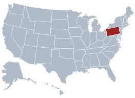 pennsylvania state map pennsylvania state information symbols capital constitution