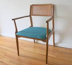 Modern Rattan Furniture Mid Century Modern Rattan Arm Chair Picked Vintage