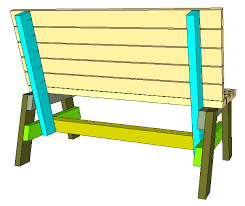 how to build a comfortable 2 4 bench and side table jays custom