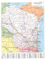 Maps Wisconsin by Connie Nelson U0027s Genealogy Maps Index