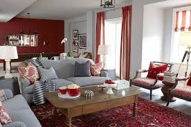 living room with red accents 10 gorgeous red accent living rooms living room ideas