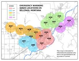 Montana County Map by Yellowstone County Montana