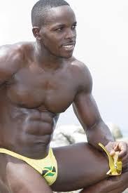 Gay Black Guy Meme - hot sexy black gay man male big bulge muscles jamaica pinterest