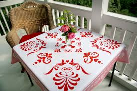 beautiful table cloth design nessy designs card table tablecloth