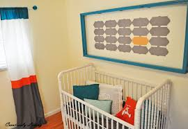 Yellow Curtains For Nursery by Huge Wall Art For The Nursery Nursery Project 5 Creatively
