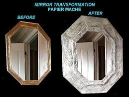 paper mache home decor papier mache mirror frame transformation home diy projects youtube