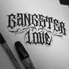 best 25 gangster letters ideas on pinterest chicano lettering