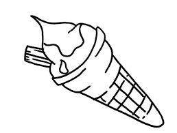 tasty ice cream cone coloring pages bulk color