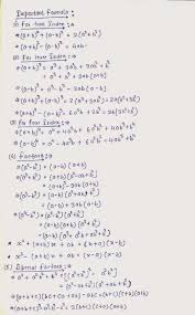 important tricks and concept on algebra