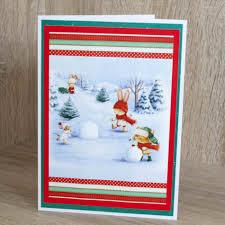 christmas cards winter fingerprint craft ideas for kids light