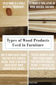 best wood for furniture the stated home