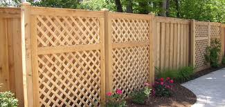 lattice privacy fence diy fence ideas installing lattice
