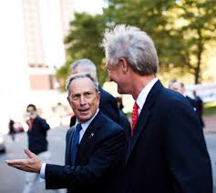 bloomberg pushes moderates in national races the new york times