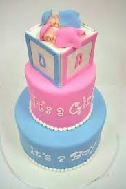 19 best baby shower twin cakes images on pinterest twin babies