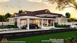 100 kerala home plan single floor june 2014 kerala home