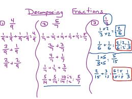 Fraction Worksheets Grade 5 Decomposing Fractions Math Elementary Math Math 4th Grade Showme