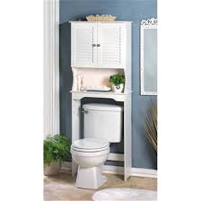 White Bathroom Shelf With Hooks by Bathroom Cabinets For Over The Toilet Traditional Bathroom Benevola