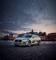 volvo sweden website 2017 volvo v90 is the latest police car in sweden undergoes