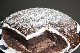 moist chocolate cake with chocolate sauce recipe recipes making