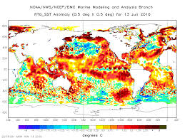 World Temperatures Map by North Atlantic Cooling Suggests Climate Is About To Change Over