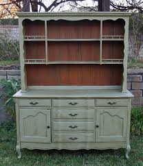 i am going to do this vintage french china hutch in olive