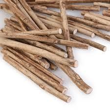 sticks wood 100pcs 10cm 0 5 0 8cm in diameter wood log sticks wood