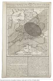 Kent England Map by Tri Centennial Of A Historic Eclipse And Map U2014 Total Solar Eclipse