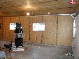 garage ideas insulating exterior walls inside epoxy basement floor
