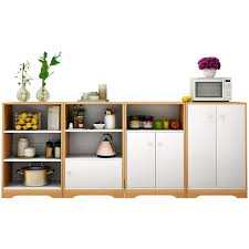 horizontal kitchen storage cabinets cupboard kitchen storage cabinet simple table side cabinet solid wood simple tea water cabinet food side cabinet shelf