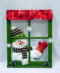 snowman decorations waving singing snowman window frame decorations id