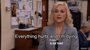 the 13 phases of your fall semester as told by parks and rec