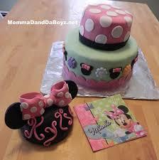 minnie mouse birthday cake momma d and da boyz