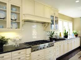 Kitchen Glazed Kitchen Subway Tiles AIRMAXTN - Kitchen backsplash ideas with cream cabinets