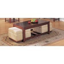 Coffee Table Ottoman Combo Coffee Table Ottoman Combo Wayfair