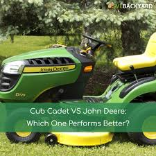 cub cadet vs john deere which one performs better
