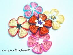 tutorial quilling flower quilling fan flower tutorial youtube