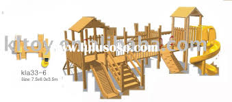 blueprints wood playground equipment plans