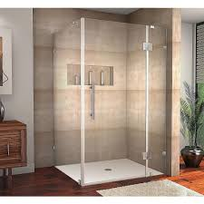 48 Shower Doors Aston Avalux 48 In X 36 In X 72 In Frameless Shower Enclosure