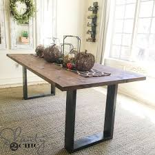Making A Basic End Table by Best 25 Diy Table Top Ideas On Pinterest Chairs For Dining