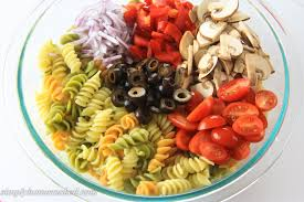 pasta salad simply home cooked