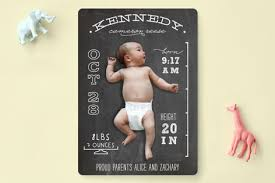 birth announcement chalkboard stats birth announcements by leslie ham minted