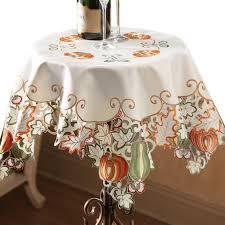 amazon com autumn harvest diecut decorative table linens runner