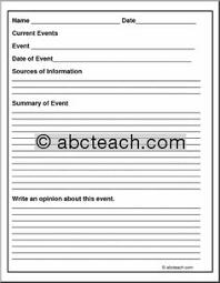 current events worksheet for middle u0026 high free